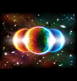 Space background vector image