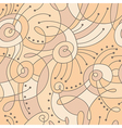 mono line pattern vector image vector image