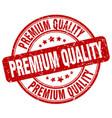 premium quality stamp vector image