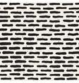 Seamless Hand Drawn Horizontal Grunge Lines vector image