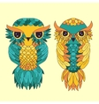 Owl graphic Abstract vector image