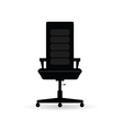 chair black vector image
