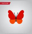 isolated milkweed flat icon monarch vector image