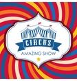 Circus icon design vector image