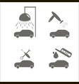 auto service for jeeps vector image