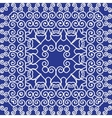 Simple pattern ornament Kaleidoscope by Chinese vector image