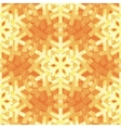 Shiny Gold Light Snowflakes Pattern for vector image