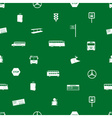 bus transport pattern eps10 vector image