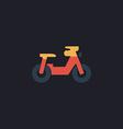 motorcycle computer symbol vector image