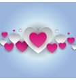 Valentine s Day Heart Symbol Love and Feelings vector image