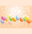 bright festive background vector image vector image