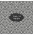 Seamless retro vintage marine geometric line vector image