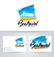 Boat Travel vector image