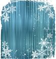 winter background snowflakes vector illustration vector image vector image