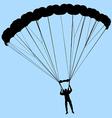 ram air parachute vector image