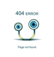 Page not found 404 error vector image