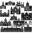 American Architecture-6 vector image vector image