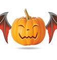 happy pumpkin2 vector image vector image