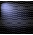 Dark Iron Perforated Background vector image