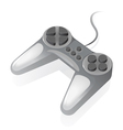 Isometric icon of gamepad vector image vector image