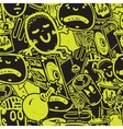 Seamless pattern graffiti vector image