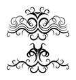 tribal background design vector image