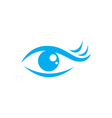 Eye care logo vector image