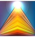 Colorful Futuristic Background vector image vector image