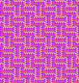 The pattern of the colored pixels vector image