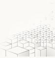 geometric pattern template vector image