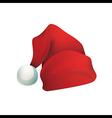 Hat Santa Claus vector image
