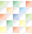 color square pattern vector image vector image