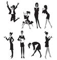 Women in office vector image vector image
