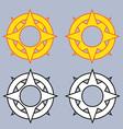 Tribal medallion vector image