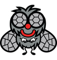 Smiling fly vector image vector image