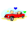 relationship vector image vector image