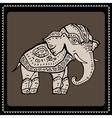 Elephant Indian style vector image