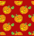 Seamless halloween backgrounds vector image