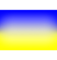 Yellow Blue Gradient Background vector image