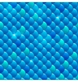 Seamless river fish scales vector image