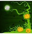 Halloween Pumpkin Tree vector image