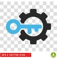 Key Options Eps Icon vector image