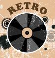 retro vinyl vector image vector image