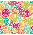 Cute retro pattern vector image
