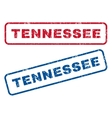 Tennessee Rubber Stamps vector image