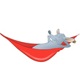 mouse hammock vector image vector image