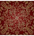 floral pink pattern vector image vector image