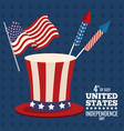 united states independence day image vector image