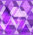 abstract purple geometric template background vector image