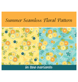 Summer Seamless Floral Pattern vector image vector image